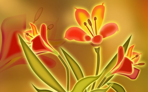 Colorful Paintings Of Flowers Vol No Of Flowers