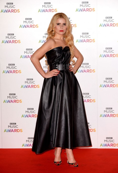 Paloma Faith Attends Bbc Music Awards Music