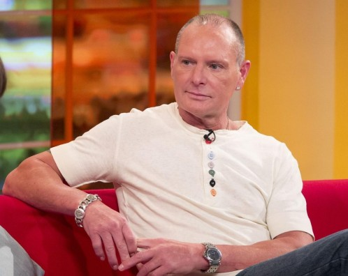 Gallery Showbiz Paul Gascoigne Daybreak Still Paul Gascoigne