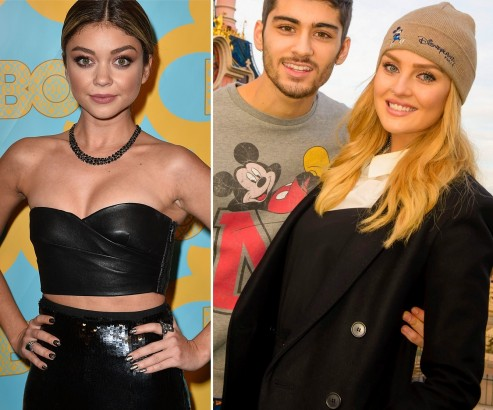 Sarah Hyland Zayn Malik Perrie Edwards Engaged Diss Perrie Edwards