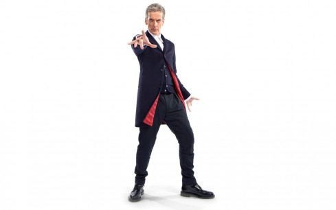 Doctor Who The Doctor Tardis Peter Capaldi Simple Background Wallpaper