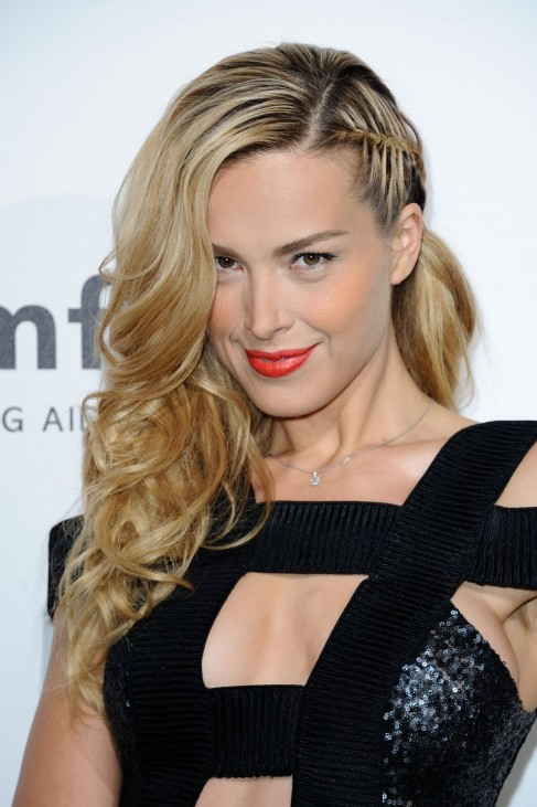 Petra Nemcova At Amfar Paris Dinner Peninsula Hotel Petra Nemcova