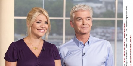 Lan Ape Uktv This Morning Holly Willoughby Phillip Schofield