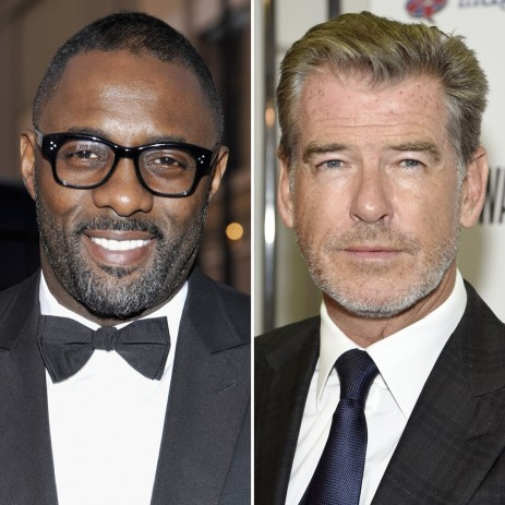 Pierce Brosnan Idris Elba Pierce Brosnan