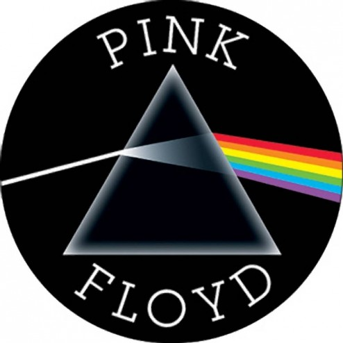 Pink Floyd The Dark Side Of The Moon Round Button Pink Floyd