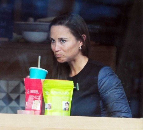 Pippa Middleton Out And About In London Pippa Middleton