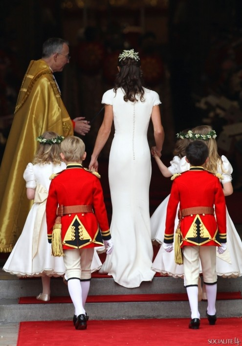 Pippa Middleton The Royal Wedding Westminster Abbey London England Pippa Middleton