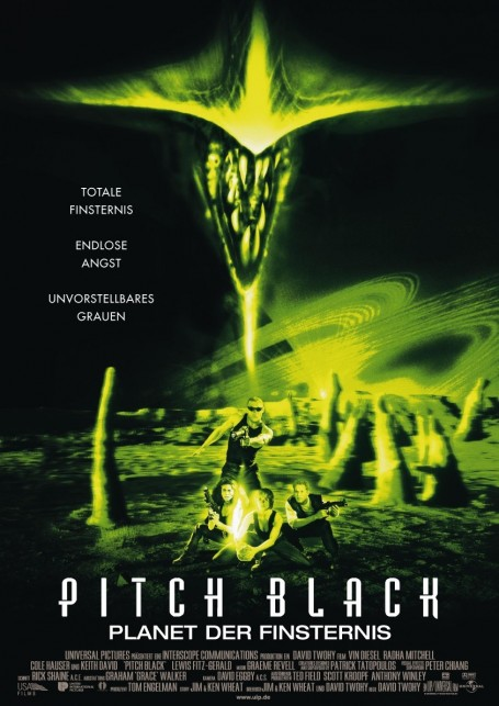 Pitch Black Poster Pitch Black