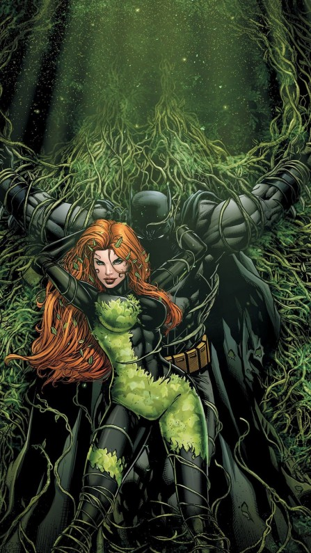 Batman And Poison Ivy Comic Mobile Wallpaper Batman