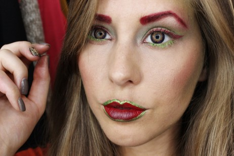 Poison Ivy Makeup Tutorial Halloween Cosume Ideas Poison Ivy