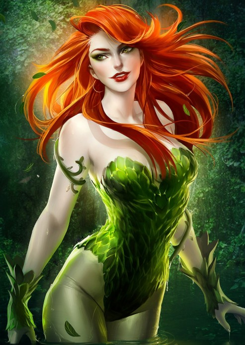 Wallpaper Poison Ivy
