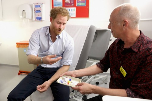 Nc Prince Harry Hiv Test Mem Prince Harry