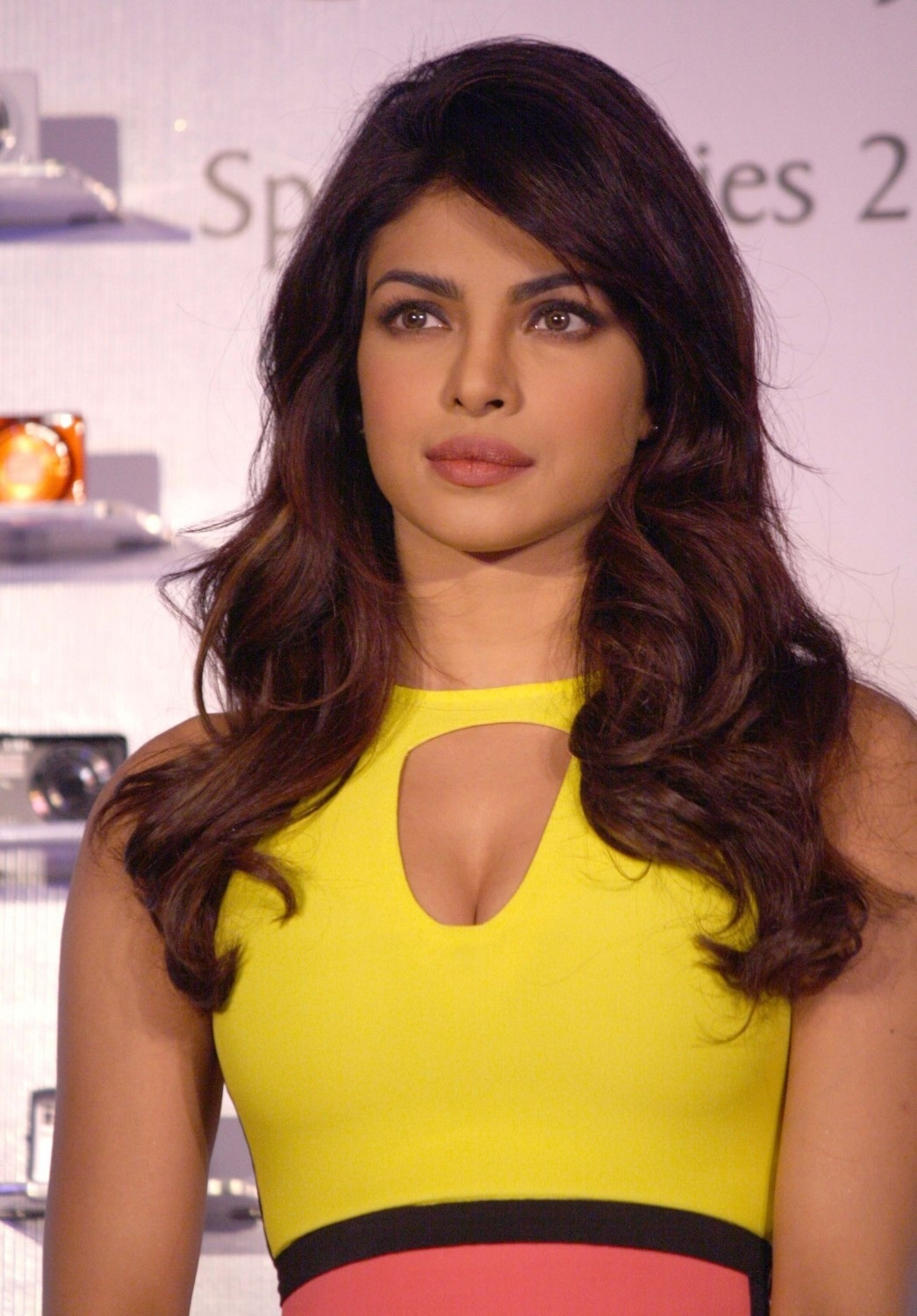 Priyanka Chopra At The Launch Of Nikon Collpix Spring Series Priyanka Chopra
