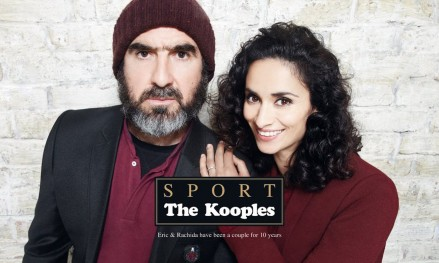 Fke Adv The Kooples Eric Cantona And Rachida Brakni Rachida Brakni