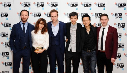 Sally Hawkins Rafe Spall Morgan Matthews Asa Butterfield And Orion Lee At Event Of Sterskapet Movies