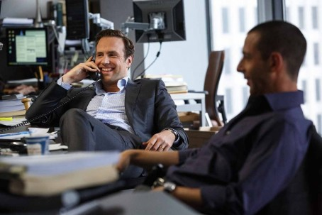 The Big Short Rafe Spall And Jeremy Strong Rafe Spall