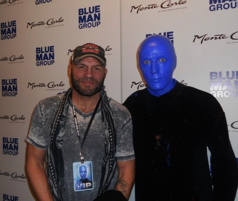 High Res Randy Couture At Blue Man Group Las Vegas In Monte Carlo Resort And Casino