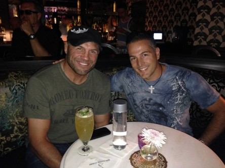 Marco With Randy Couture