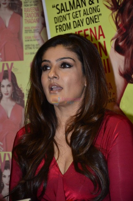 Hpse Fullsize Raveena Tandon Launches Savvy New Cover In Mumbai On Th Nov Deadedfadd Raveena Tandon