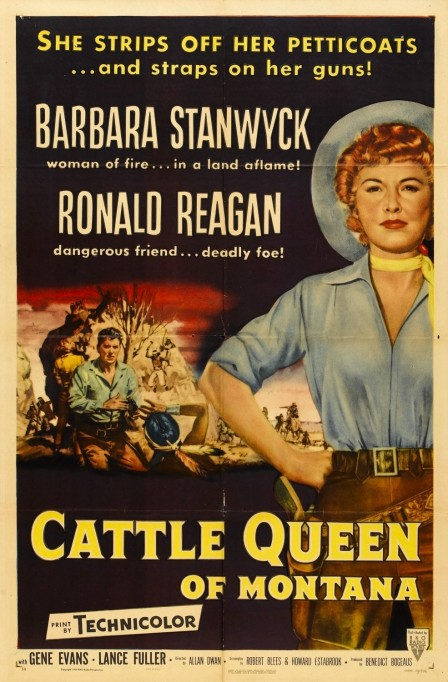 Cattle Queen Of Montana Xlg Movie