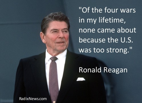 Reagan Peace Through Strength Movie