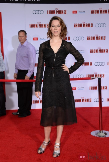 Rebecca Hall Estreno Iron Man Los Angeles Iron Man