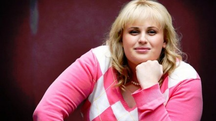 Australian Actress Rebel Wilson In Thinking Mood Rebel Wilson