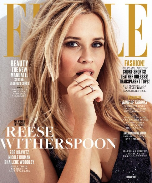 Gallery Feb Elle Covers Reese Witherspoon Reese Witherspoon
