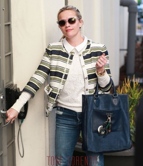 Reese Witherspoon Gotsbhca Street Style Fashion Draper James Tom Lorenzo Site Reese Witherspoon