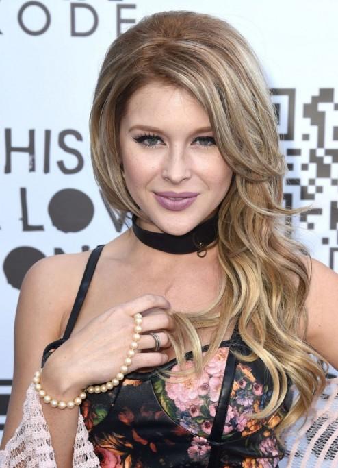 Renee Olstead Attends The Kode Magazine Th Issue Party In Los Angeles