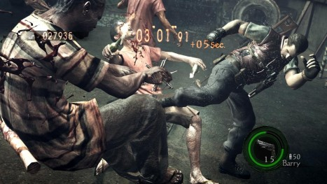 Resident Evil Gold Barry Screens Game