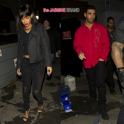 Rihanna Drake Leave West Hollywood Night Club Together The Jasmine Brand