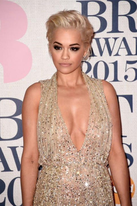 Rita Ora Brit Awards In London Body