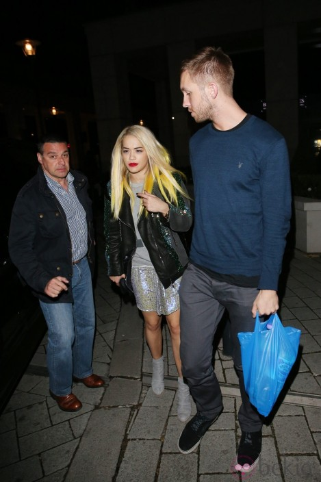 Rita Ora Calvin Harris Paseo Londres And Calvin Harris