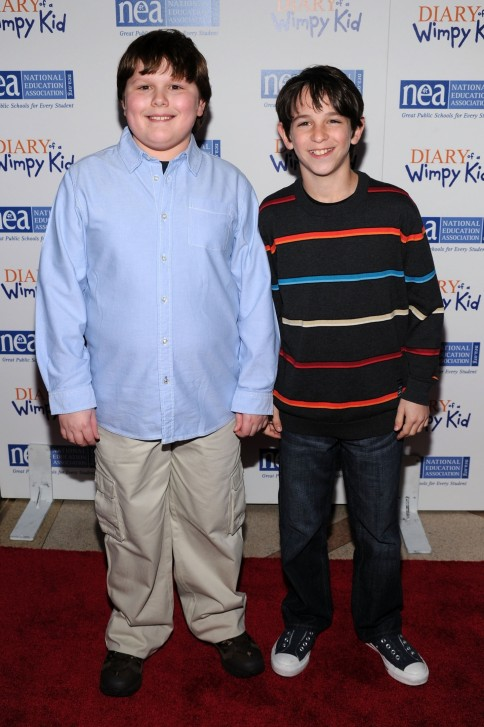 Robert Capron Und Zachary Gordon Robert Capron
