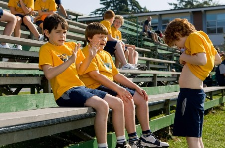 Still Of Grayson Russell Zachary Gordon And Robert Capron In Diary Of Wimpy Kid Robert Capron