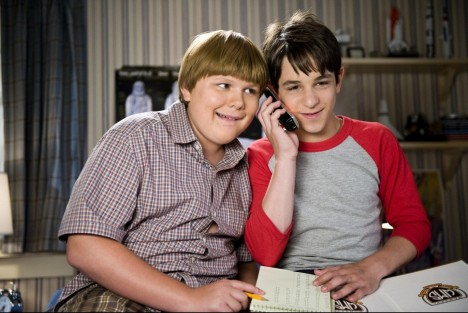 Still Of Zachary Gordon And Robert Capron In Diary Of Wimpy Kid Dog Days Large Picture And Zachary Gordon