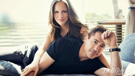 Thr Robert Downey Jr Susan Downey Robert Downey Jr