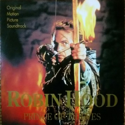 Ost Robin Hood Prince Of Thieves Lp Ex Movie