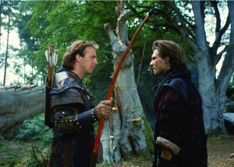 Still Of Kevin Costner And Christian Slater In Robin Hood Prince Of Thieves Movie
