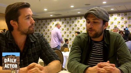 Interview Charlie Day Rob Mcelhenney Its Always Sunny Rob Mcelhenney