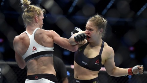 Ronda Rousey Holm Fight Ronda Rousey