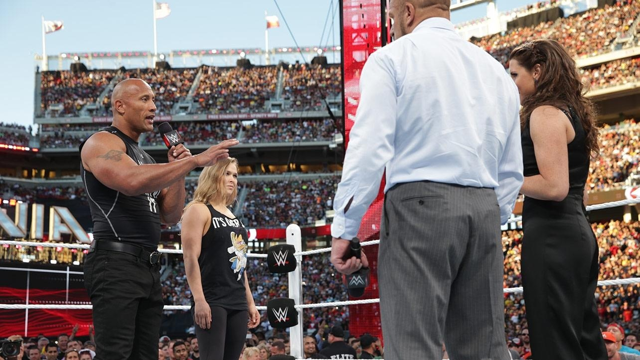 Wwe Rumors Ronda Rousey Wrestlemania