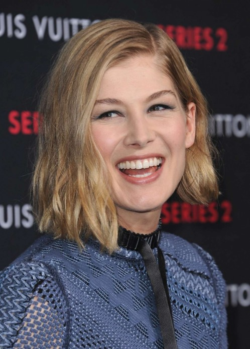 Rosamund Pike Louis Vuitton Exhibition Series Past Present And Future Rosamund Pike