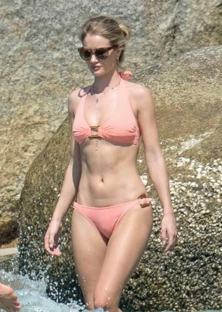 Rosie Huntington Whiteley In Bikini In Thailand Rosie Huntington