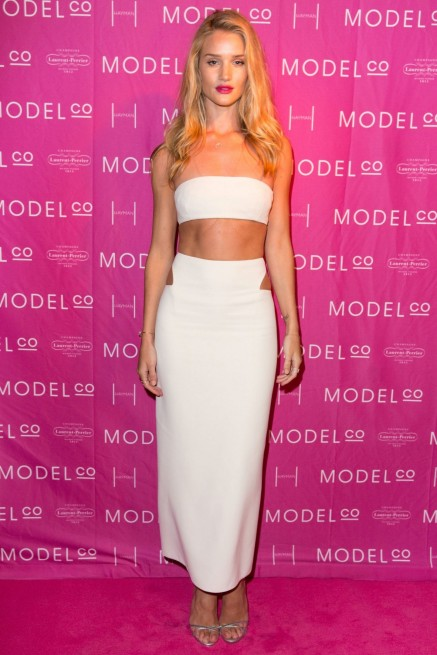 Fashion Bandeau Tops Rosie Huntington Whiteley Main Rosie Huntington Whiteley