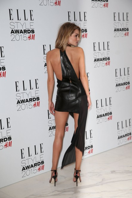 Rosie Huntington Whiteley At Elle Style Awards In London Rosie Huntington Whiteley