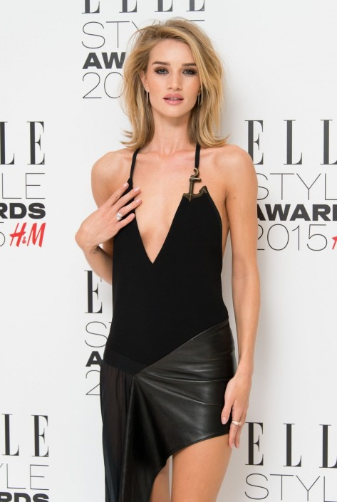 Rosie Huntington Whiteley Elle Style Awards In London