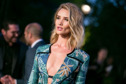 Rosie Huntington Whiteley Lips Main Hair