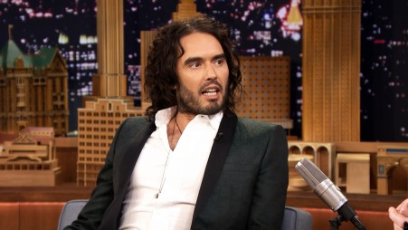 Russell Brand Confronts Jimmy About His Impr